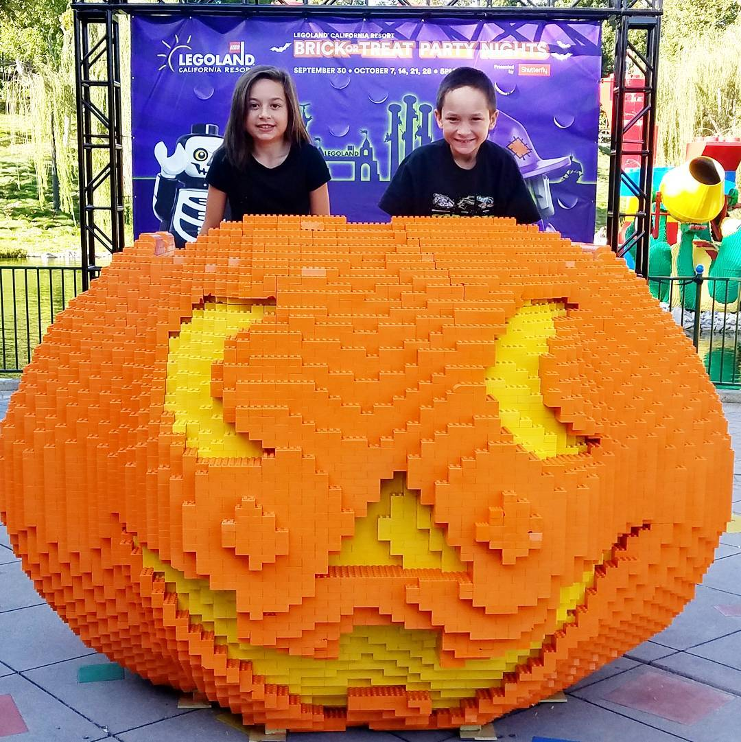 Spooky Family Fun at Brick or Treat - Legoland California