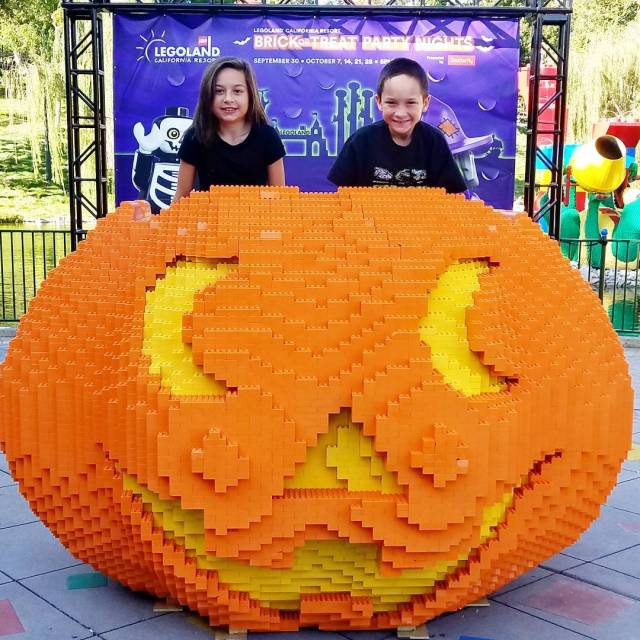 Next stop legolandcalifornia for brickortreat partynights for some familyfriendlyHalloween funhellip