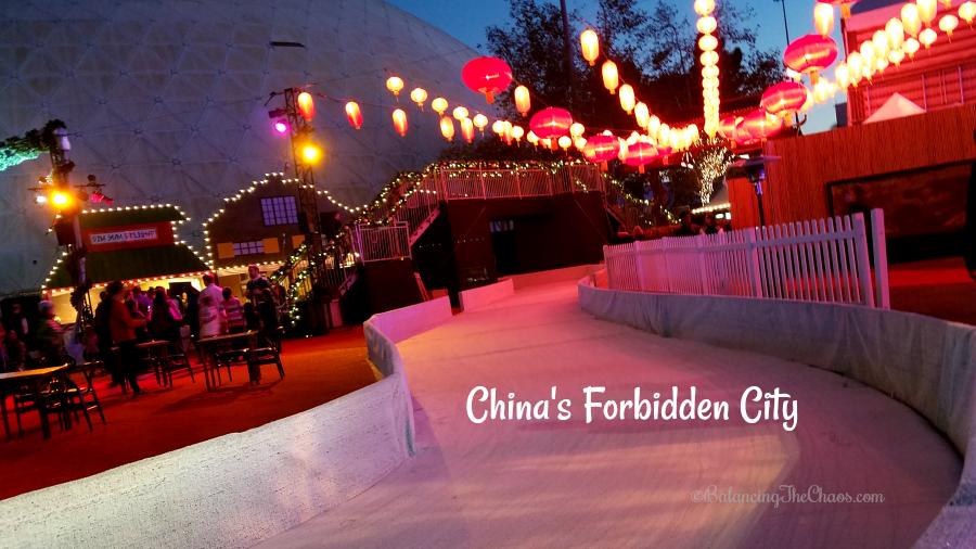 Chinas forbidden city at chill