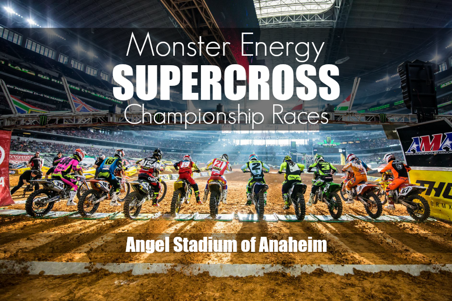 Supercross at Anaheim Stadium