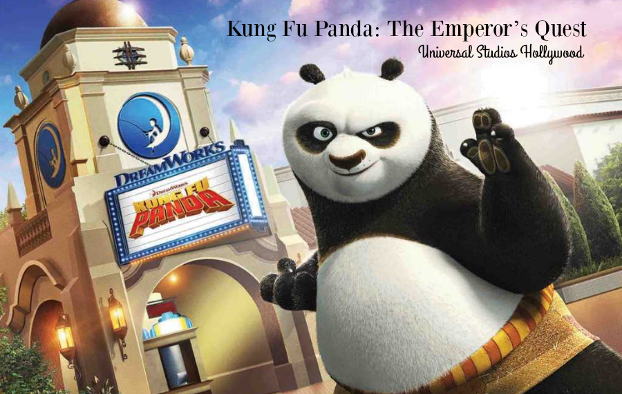 Kung Fu Panda: The Emperor's Quest Opens June 15th at Universal Studios Hollywood