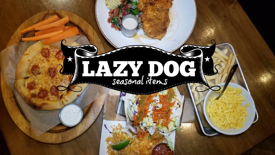 Lazy Dog Seasonal Items