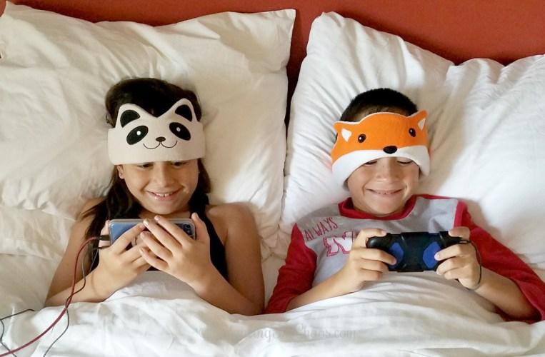 Kids Enjoy Cozy Phones