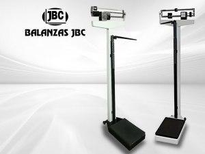Balanza Pesa Persona con Tallimetro Mecánica Marca JBC