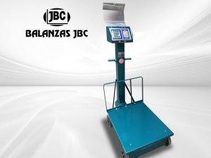 Balanzas Electromecánicas con Ruedas Marca JBC Modelo 8503B 500KG