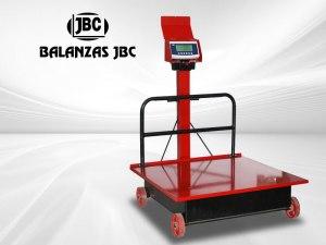 Balanzas Electromecánicas con Ruedas Marca SAGUITA Modelo E2P 1000KG