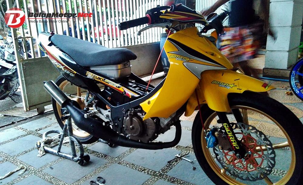 Road Race Purbalingga 2018 Suzuki Satria 2 Tak Botuna Racing