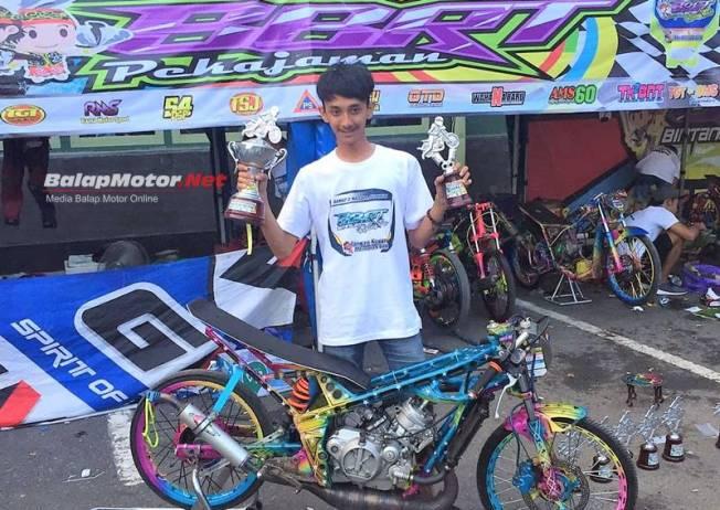 FasTest Of The Event Kapolresta Banjarmasin Drag Bike Championship 2018 Takluk Di Tangan BBRT Pekajaman