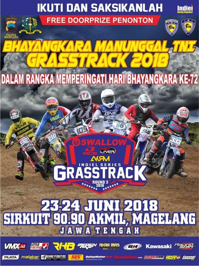 Indiel Grasstrack Seri 3 Tayang Satu Minggu Setelah Lebaran, Sirkuitnya Gress di Magelang!