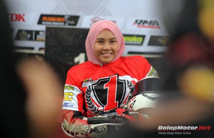 Jadi Ratu Balap Motor Indonesia, Fisichella KW Siap Balap Bebek
