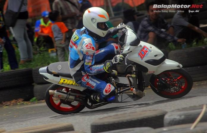 Final Motoprix Purwokerto 2018: Matic FFA Maksimal 250cc, Duo Mio PJRM Siap Tarung!