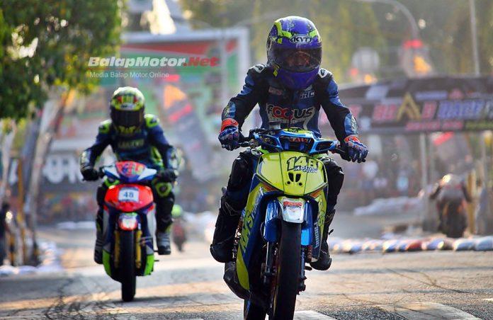 "Road Race Blora: Agus Chikens ""Kims Racing"" Tercepat QTT Underbone Sleep Engine!"