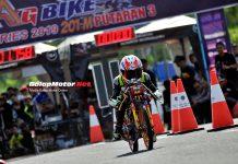 Gadhuro Drag Bike Cilacap 2019: Jupie Kate Tembus 7,8 Detik Lewat Jhendra Peking!