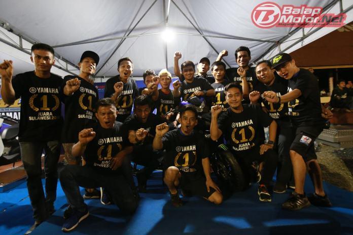 Yamaha Pastikan Rengkuh Gelar Juara Region Expert Motoprix Sulawesi 2019