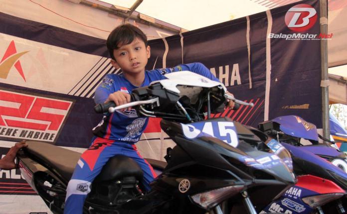 Bocah Imut Abimanyu Fermadi Akan Tarung Perdana Balap Bebek di Grand Final YCR 2019 Tasikmalaya