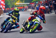 Road Race Karangayar: Tommy vs Sakti, Underbone F1ZR Bipola Children Jawara!