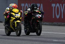 putaran final Asia Road Racing Championship (ARRC) 2019