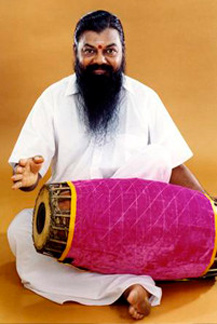 Image result for Images of mridangam Mani in action in India
