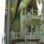 Meiszter Villa Balatonlelle, belsőudvar felől