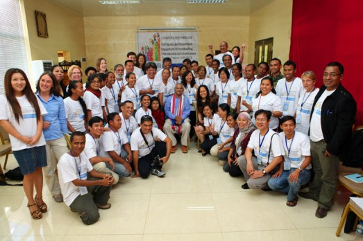 Action Asia Forum gathering 65 delegates from 12 asian countries and 4 non-asia countries in Dili, Timor Leste from Sept 18 to 21, 2012, together with 1996 Nobel Peace Laureate Jose Manuel Ramos-Horta as the Keynote Speaker of the forum.
