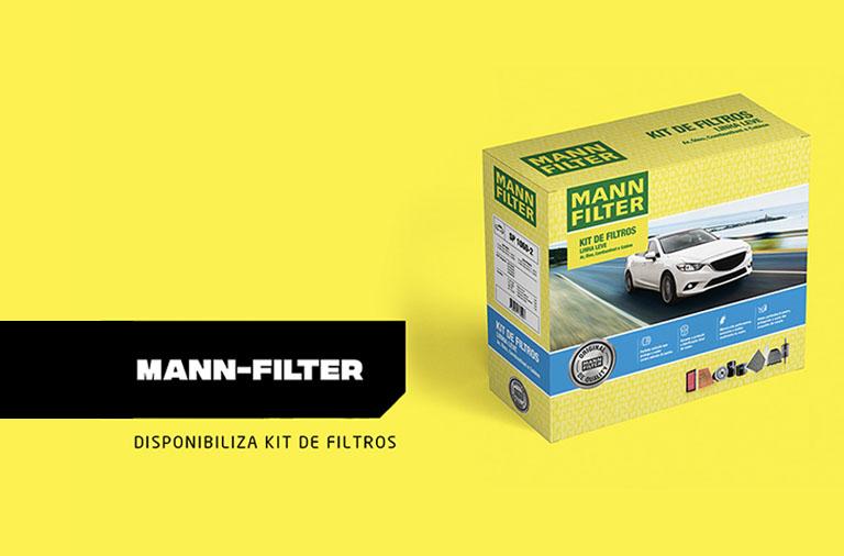 MANN-FILTER disponibiliza Kit de filtros