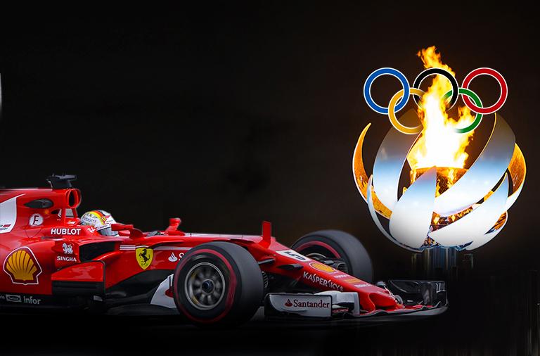 Automobilismo olimpíadas