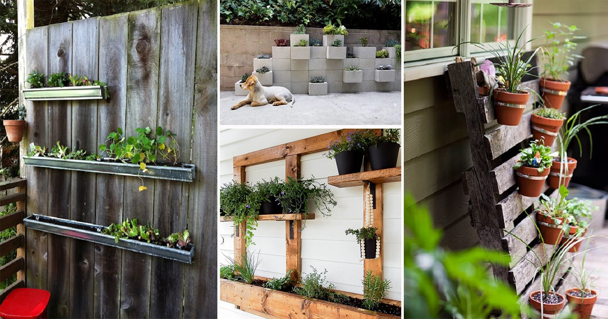 28 Greatest Vertical Gardening Ideas For Small Space Urban