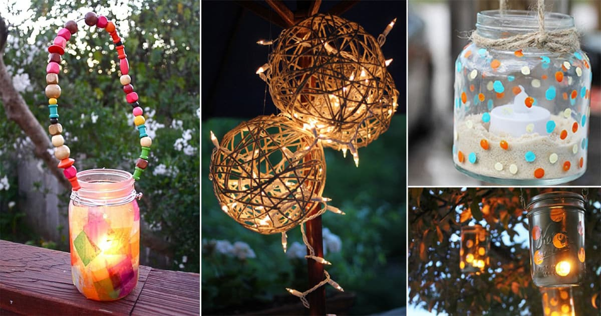 32 Diy Garden Lantern Ideas To Add Life To Your Outdoor Space