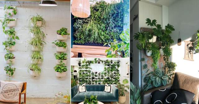 20 Green Ideas For Modern Wall Decoration Balcony Garden Web