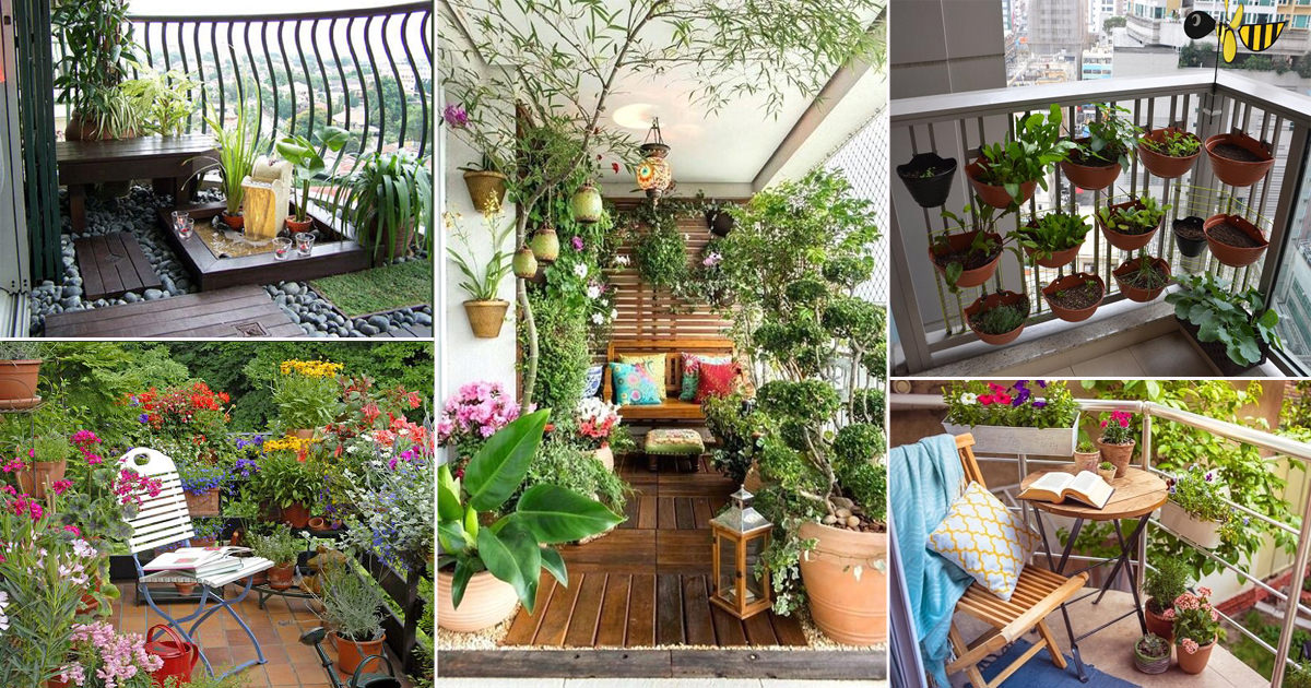 70 Nicest Balcony Garden Ideas Balcony Garden Web
