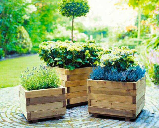 How Build Garden Box Pallets