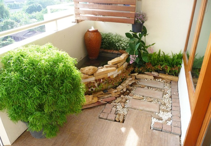 How to Make a Japanese Balcony Garden   Balcony Garden Web How to make a Japanese balcony garden