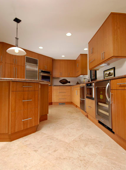 Long Kitchen Design Ideas