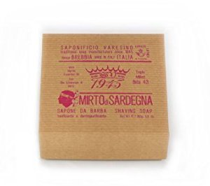 Mirto di Sardegna Saponificio Varesino Sapone da Barba