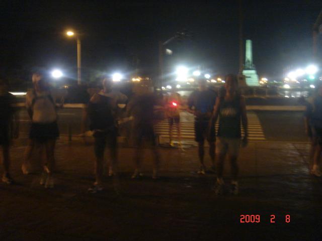 At Rizal Monument, Luneta Park
