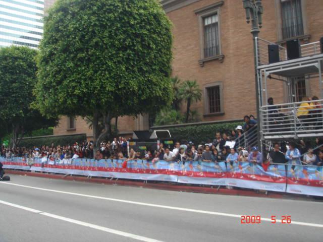 Spectators Before The Finish Line