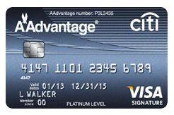 Citibank American Airlines Visa Platinum Select