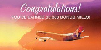Barclays Hawaiian Airlines 35000 miles bonus
