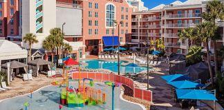 Embassy Suites Orlando pool deck