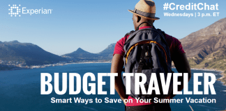 Experian CreditChat summer travel 2016-06