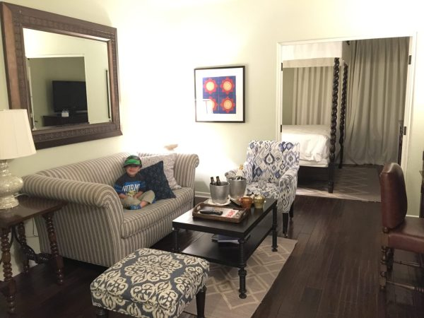 Kimpton Canary King Suite living room