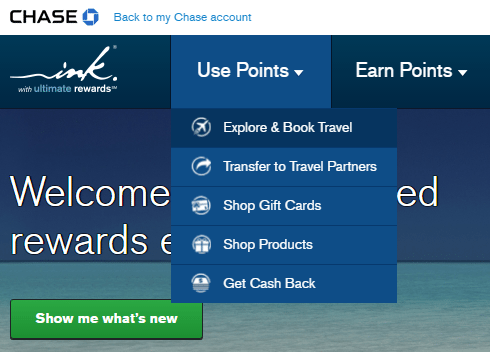 Chase Ultimate Rewards to rent a car - explore and book travel