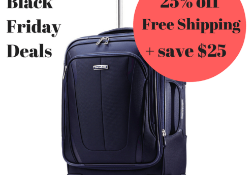 Samsonite Black Friday deals