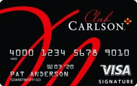 US Bank Club Carlson Visa credit card