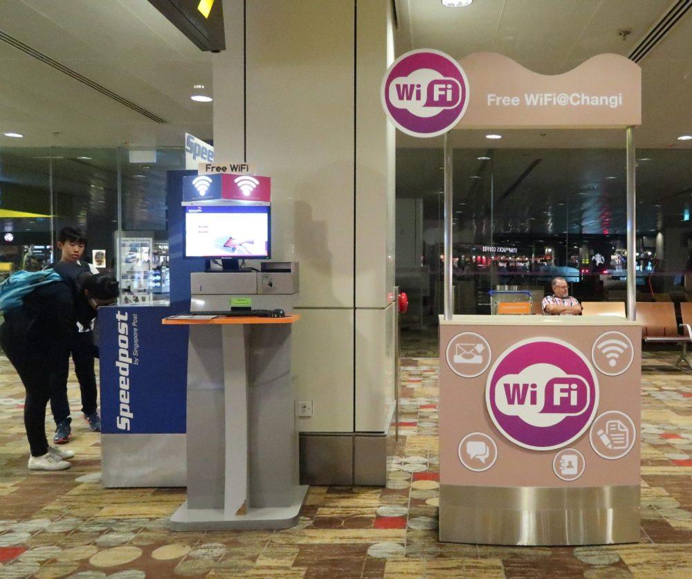 Singapore Changi Airport WiFi