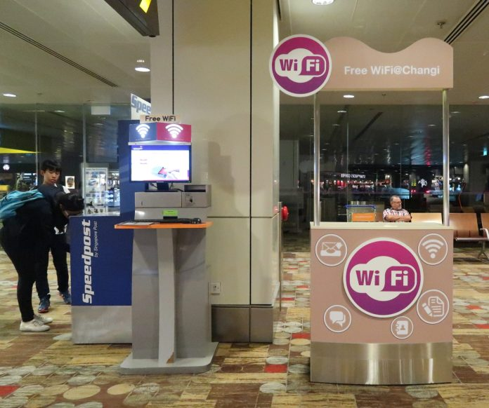Singapore Changi Airport WiFi
