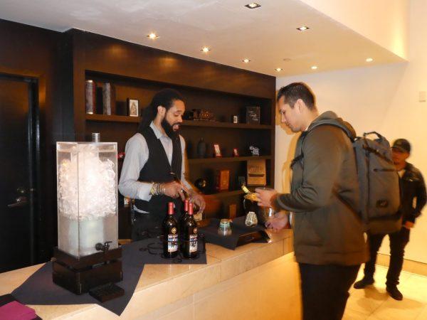 Kimpton Donovan Hotel wine hour