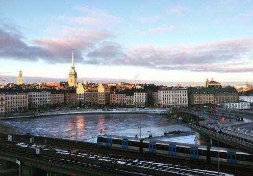 Hilton Stockholm Slussen King Executive view