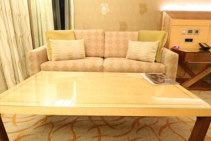 Marina Sands Bay Hotel Sofa