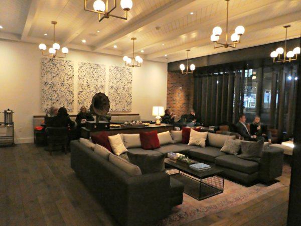 Kimpton Journeyman lobby seating
